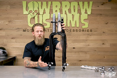 VIDEO: Review - Cannonball I-Beam Inline Springer Front Fork for Custom Motorcycles