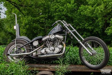 Lowbrow Spotlight: Ryan Grayson's 2001 Harley-Davidson Sportster Chopper - Lowbrow Customs