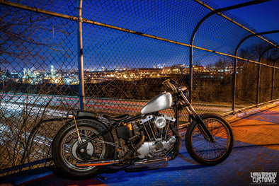Lowbrow Spotlight: Tim Fiorucci's 1973 Harley-Davidson XLCH Ironhead - Lowbrow Customs