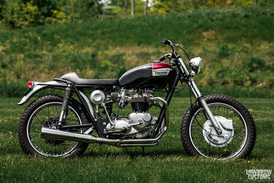Lowbrow Spotlight: Todd Muller's 1967 Triumph 650 Mongrel - Lowbrow Customs