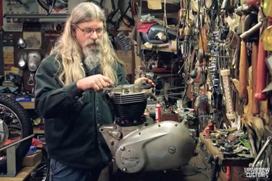 VIDEO: Triumph 650 Motorcycle Engine Disassembly & Rebuild Part 2