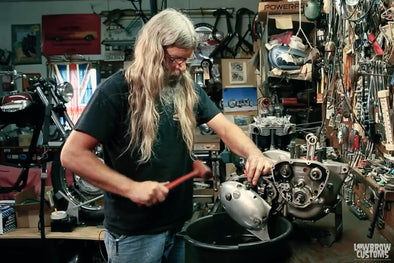 VIDEO: Triumph 650 Motorcycle Engine Disassembly & Rebuild Part 4