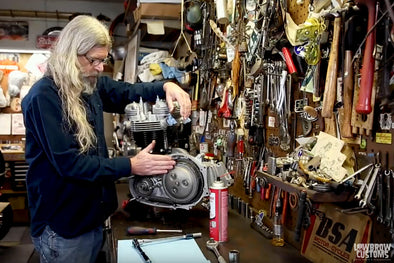 VIDEO: Triumph 650 Motorcycle Engine Disassembly & Rebuild Part 12