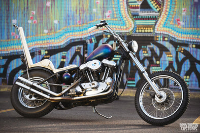 Lowbrow Spotlight: Virginia Cagney's 1996 Harley-Davidson Sportster - Lowbrow Customs