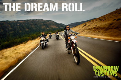 The Dream Roll - Lowbrow Customs Coverage