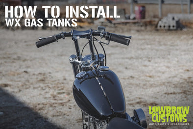 How To Install Lowbrow Customs WX Split Gas Tanks