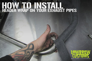 How to Install header wrap on your exhaust pipes