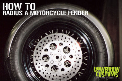 How to radius a motorcycle fender - Lowbrow Customs