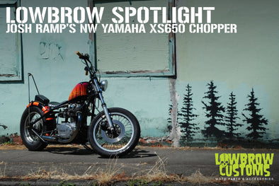 Pacific NW Yamaha XS650 Chopper