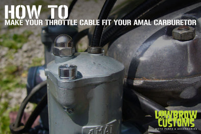 How to make your throttle cable fit your Amal carburetor