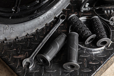 Lowbrow Customs Motorcycle Handlebar Grips: How It's Made from Idea to Finished Product