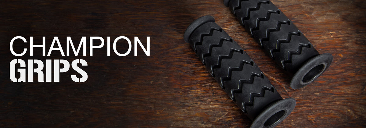 Champion Motorcycle Grips for Custom Motorcycles