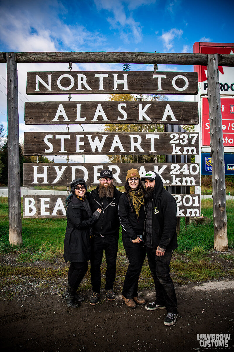 Kat, Mikey, Jodi and Chris were super excited to be so close to Alaska!