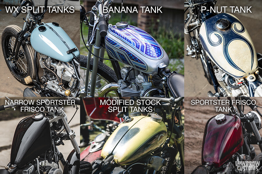 How to make a custom motorcycle gas tank?