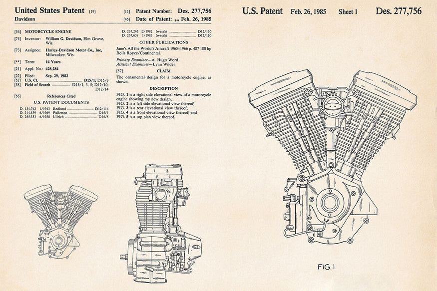 A Brief History Of The Harley Davidson Evolution Engine Lowbrow Customs