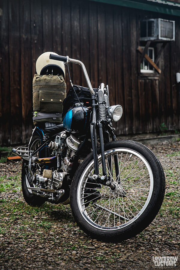 How to build a bobber motorcycle?