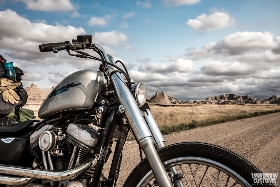 Lowbrow Customs 39mm Fork Shrouds on motorcycles-2