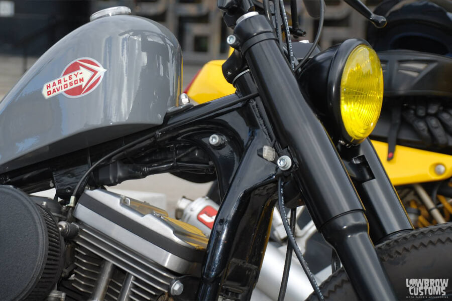 Lowbrow Customs 39mm Fork Shrouds on motorcycles-3