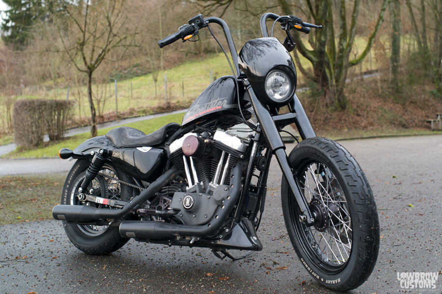 Lowbrow Customs 39mm Fork Shrouds on motorcycles-5