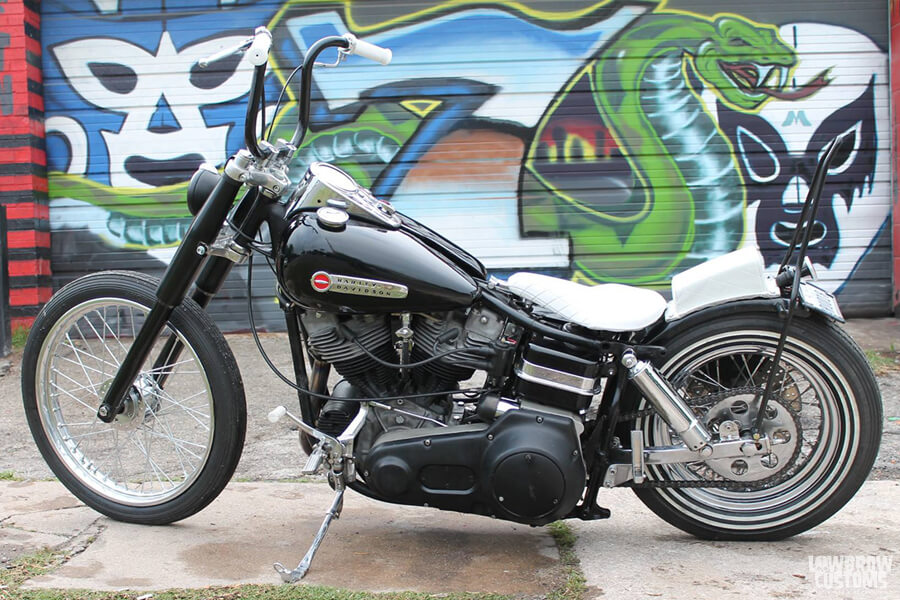 Lowbrow Customs 39mm Fork Shrouds on motorcycles-7
