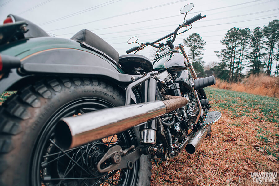 Lowbrow Customs Spotlight-Annette LaRue's 1958 Harley-Davidson FLH Duo Glide Panhead-Liam Kennedy Photos-7