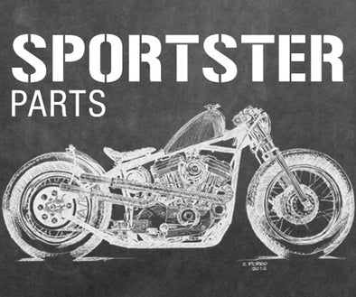 Harley Davidson Sportster Parts and Accessories for Bobber and Chopper Motorcycles
