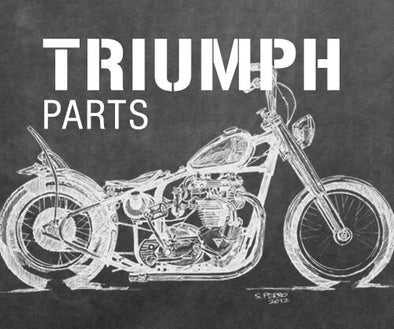 Triumph Custom, Classic and Vintage Motorcycle Parts and Accessories for Bobber and Chopper