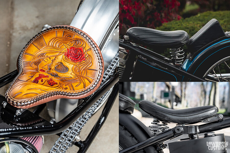 How to build a bobber solo seat options - Lowbrow Customs