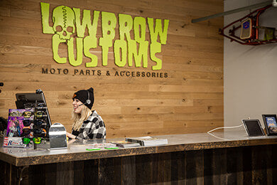 Lowbrow Customs Showroom