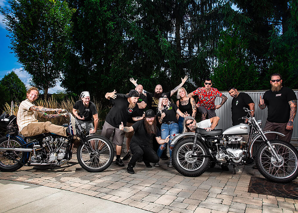 Lowbrow Customs Staff Photo 2020
