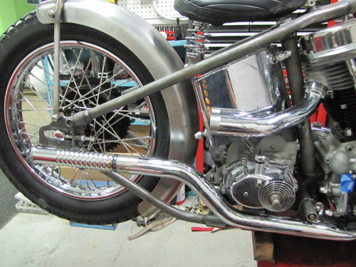 modify-custom-exhaust-panhead-chopper-ripple-pipe-photo-2