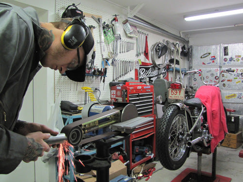 modify-custom-exhaust-panhead-chopper-ripple-pipe-photo-5