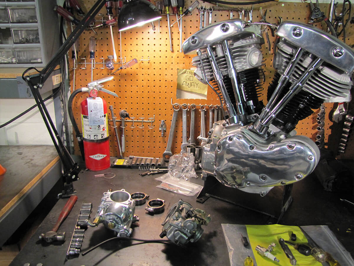 VIDEO-Big Twin 4 speed Transmission Rebuild With Frank Kaisler-4