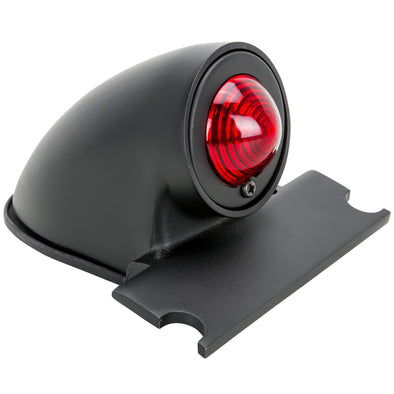Sparto Black Aluminum Tail Light - 12v