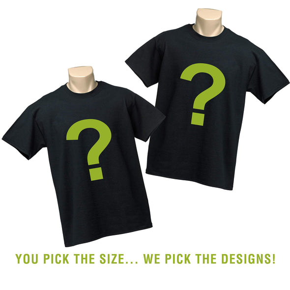 Mens Shirt Grab Bag! You Pick the Size - We Pick the Designs!