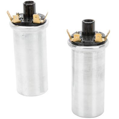 12 volt Ignition Coils - Pair - Lucas style