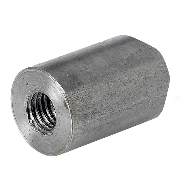 Coped Steel Bungs 1 inch long - 5/16-18 thread - 4 pack