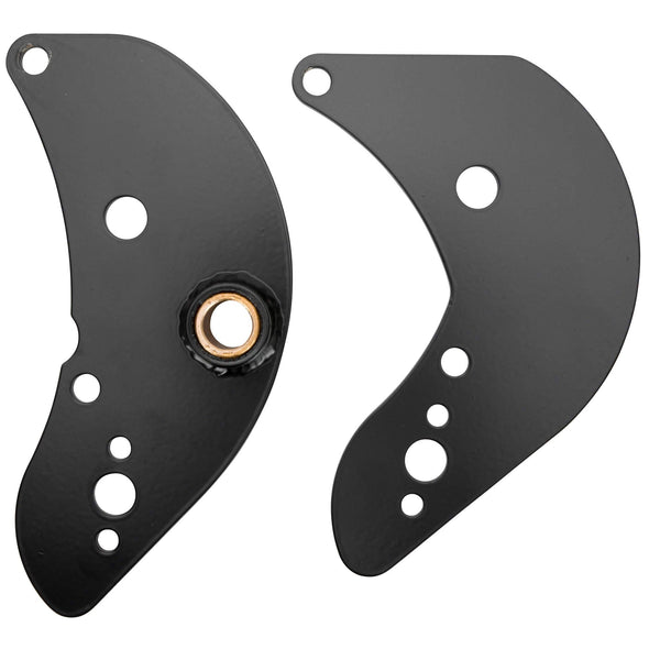 Rear Motor Mount Plates for Triumph Motorcycles - Chopper Style - 1963 - 1970 Triumph