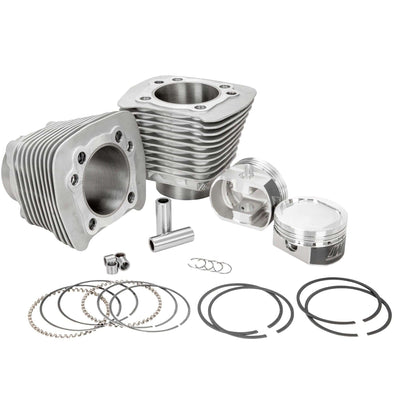 Harley Sportster 883 to 1200cc 1986 - 2003 Silver Complete Big Bore Kit