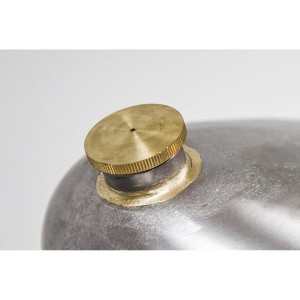 Brass Gas Filler Cap - Vented