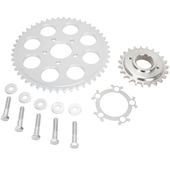 Belt to Chain Conversion Kit Harley 1200 Sportster 1994-2003 - Silver Sprocket