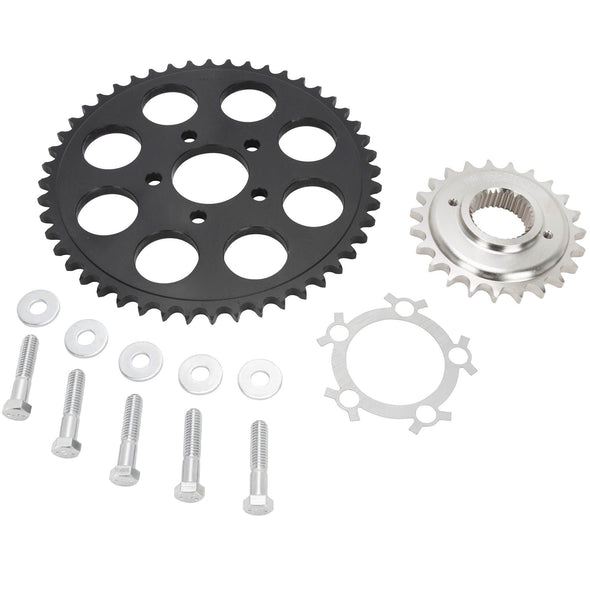 Belt to Chain Conversion Kit Harley 1200 Sportster 1994-2003 - Black Sprocket