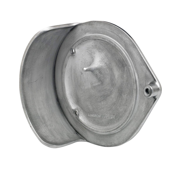 Finned Air Cleaner Cover for S&S Super E/G - Semi Polished