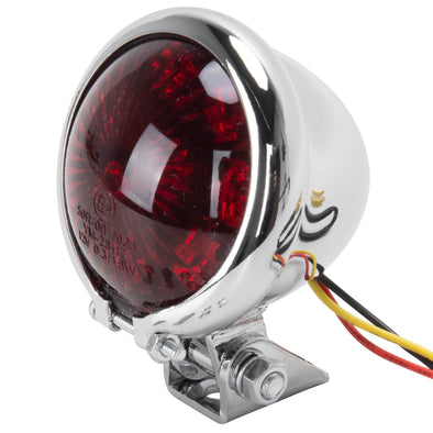 Bates Style Chrome LED Taillight