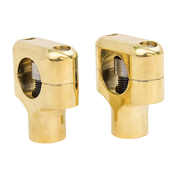 Brass Risers for Springers - 1 inch Bars