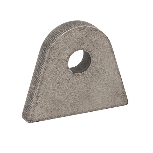 Tab #8 - Mild Steel Mounting Tabs 1/4 inch thick - 4 pack