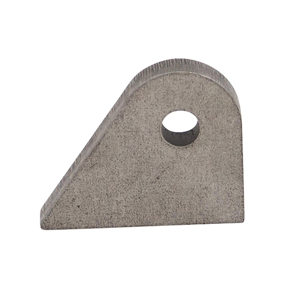Tab #9 - Mild Steel Mounting Tabs 1/4 inch thick - 4 pack