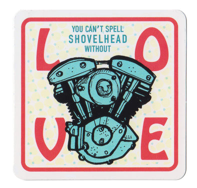 Shovelhead Love Sticker
