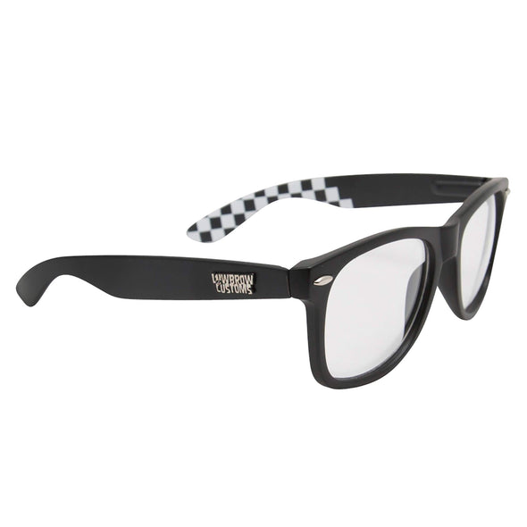 Black Clears Riding Glasses