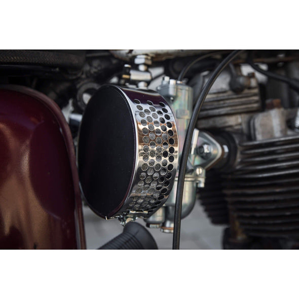 Thread-On Pancake Air Cleaner for Amal 900 Series Carburetors